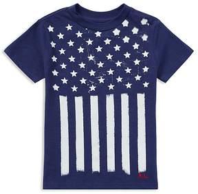 Polo Ralph Lauren Boys' Cotton Jersey Stars & Stripes Tee - Little Kid