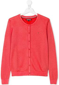 Tommy Hilfiger Junior TEEN round neck cardigan
