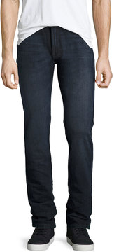 DL1961 Premium Denim Nick Straight-Leg Slim Jeans, Blue