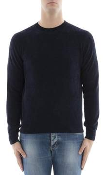 Ballantyne Men's Blue Viscose Sweater.