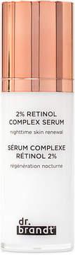 Dr. Brandt Skincare 2% Retinol Complex Serum Nighttime Skin Renewal