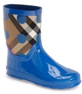 Burberry Toddler Boy's 'Ranmoor' Waterproof Rain Boot