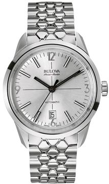 Bulova Men's Accu Swiss Stainless Steel Automatic Watch - 63B177
