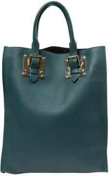 Sophie Hulme Green Leather Handbag