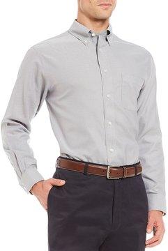 Daniel Cremieux Signature Non-Iron Royal Oxford Solid Long-Sleeve Woven Shirt