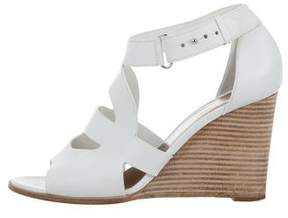 Hermes Cutout Wedge Sandals