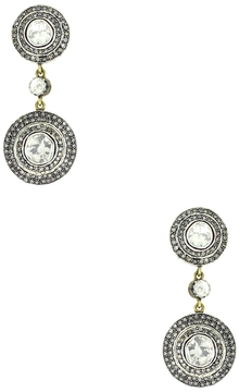 Artisan Women's 14K Gold Rose Cut Diamond Earrings