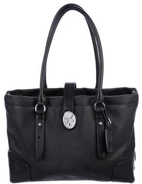 Tumi Leather-Trimmed Tote Bag
