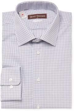 Hickey Freeman Men's Printed Classic Fit Dress Shirt