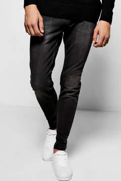 boohoo Grey Wash Stretch Skinny Jeans