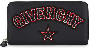 Givenchy Gothic long leather wallet