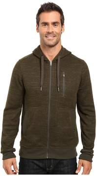 Prana Performance Fleece Zip Hoodie Men's Sweatshirt