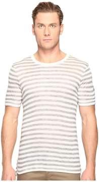 ATM Anthony Thomas Melillo Wide Trim Ringer Tee Men's T Shirt