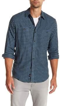 Faherty BRAND Seasons Gingham Long Sleeve Trim Fit Shirt