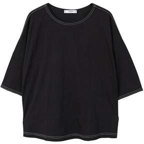 MANGO Seamed mercerised t-shirt