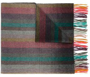Paul Smith Fading Stripe scarf