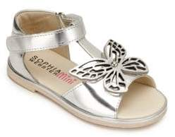 Sophia Webster Toddler's, & Kid's Metallic Butterfly Sandals