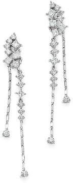 Bloomingdale's Diamond Cascade Drop Earrings in 14K White Gold, 1.25 ct. t.w. - 100% Exclusive