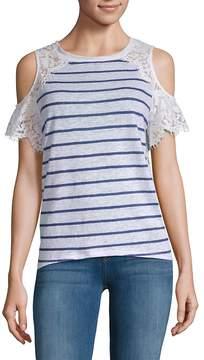 Generation Love Women's Cold-Shoulder Lace Top
