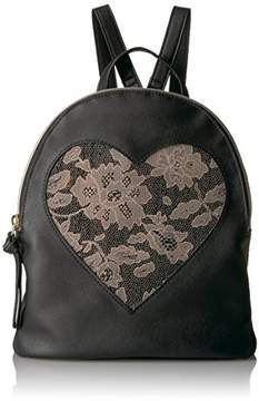 T-Shirt & Jeans Frosted Lace Heart Back Pack