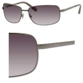 Fossil Metal Navigator Sunglasses 62 06LB Ruthenium (Y7 gray gradient lens)