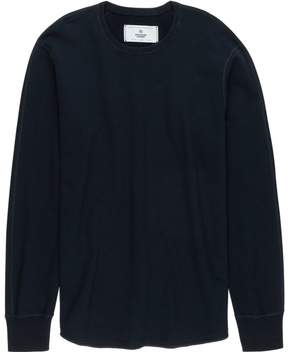Reigning Champ Scalloped Crewneck Sweatshirt - Men's