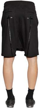 RtA Cross Printed Double Layered Shorts