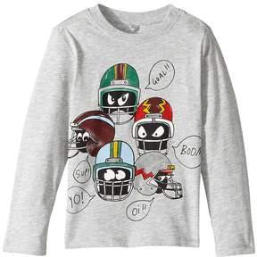 Stella McCartney Georgie Helmet Heads Long Sleeve Graphic Tee Boy's T Shirt