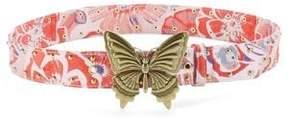 Steve Madden Studded Butterfly Belt