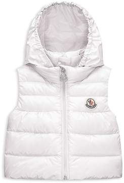 Moncler Unisex Hooded Down Puffer Vest - Baby