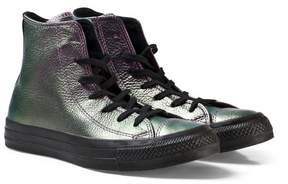 Converse Purple Metallic Chuck Taylor All Star Hi Tops
