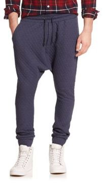 Mostly Heard Rarely Seen Quilted Diamond Sweatpants