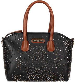 Nicole Lee Zena Studded Satchel Bag (Women's)