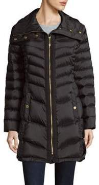 Ellen Tracy Long Sleeve Puffer Coat