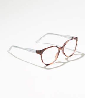 LOFT Tortoiseshell Print Cateye Reading Glasses