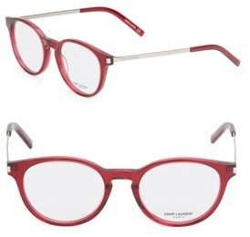 Saint Laurent 49MM, Rounded Optical Glasses