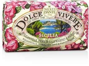 Nesti Dante Dolce Vivere Fine Natural Soap - Sicilia - Bouganville, Marine Sea Salt & Papyrus Tree