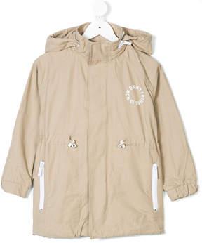 DKNY hooded parka jacket