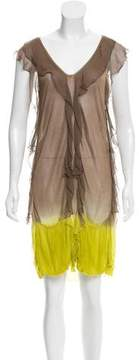 CNC Costume National Sleeveless Dip-Dyed Dress w/ Tags