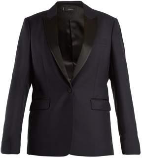 Joseph Hampsted satin-lapel wool-blend tuxedo jacket