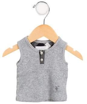 Burberry Boys' Casual Sleeveless Shirt