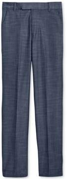 Calvin Klein Boys Cross Hatch Dress Slacks Blue L/29 - Big Kids (8-20)