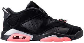 Nike Girls' Grade School Air Jordan Retro 6 Low (3.5y-9.5y) Basketball Shoes