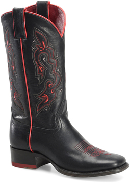 Sonora Black Ava Leather Cowboy Boot