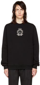 Dolce & Gabbana Black Bee Sweatshirt