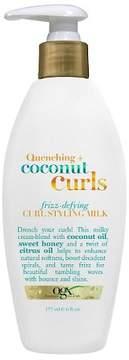 OGX® Quenching + Coconut Curls Frizz Defying Styling Milk - 6oz