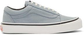 Vans Blue Nubuck OG Old Skool LX Sneakers