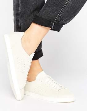 Le Coq Sportif Beige Nubuck Charline Sneakers