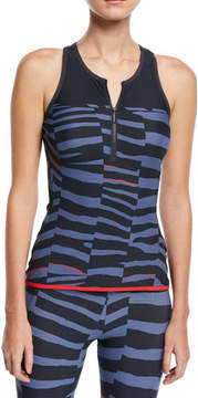 adidas by Stella McCartney Train Miracle Sculpt Printed Performance Tank