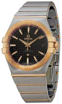 Omega Constellation Chronometer Automatic Steel and Rose Gold Men's Watch